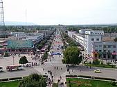 南北疆旅遊之20特克斯縣八卦城:11八條主道之一的一環道路.JPG