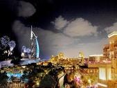 世界風景:杜拜煙火