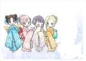 ★~『NARUTO 』~★:*火影忍者-津井.小櫻.雛田.天天.夕日紅Q版 1