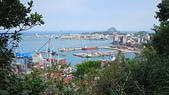 基隆神社 中正公園 海門天險(二沙灣砲台):遠望和平島