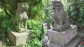 基隆神社 中正公園 海門天險(二沙灣砲台):一對狛犬