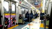 巧遇 喔熊微笑觀光彩繪列車~就在18:16苗栗1244班次的區間車:喔熊微笑觀光彩繪列車005.jpg