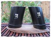 CAS國家認證的~澀水竹炭茶杯,竹炭刮痧板,生肖吊飾:~中1400元~孔徑5~6.5x高7~9cm